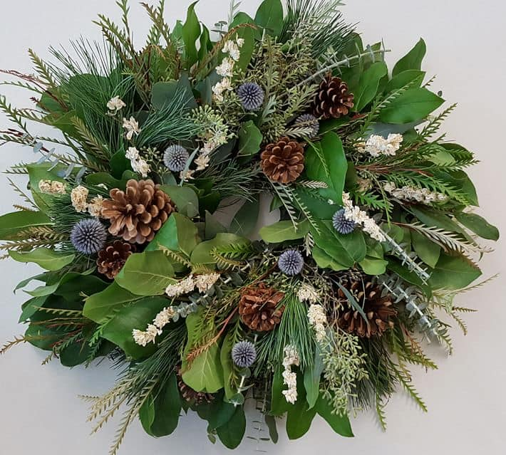 Live Winter Solstice Wreath