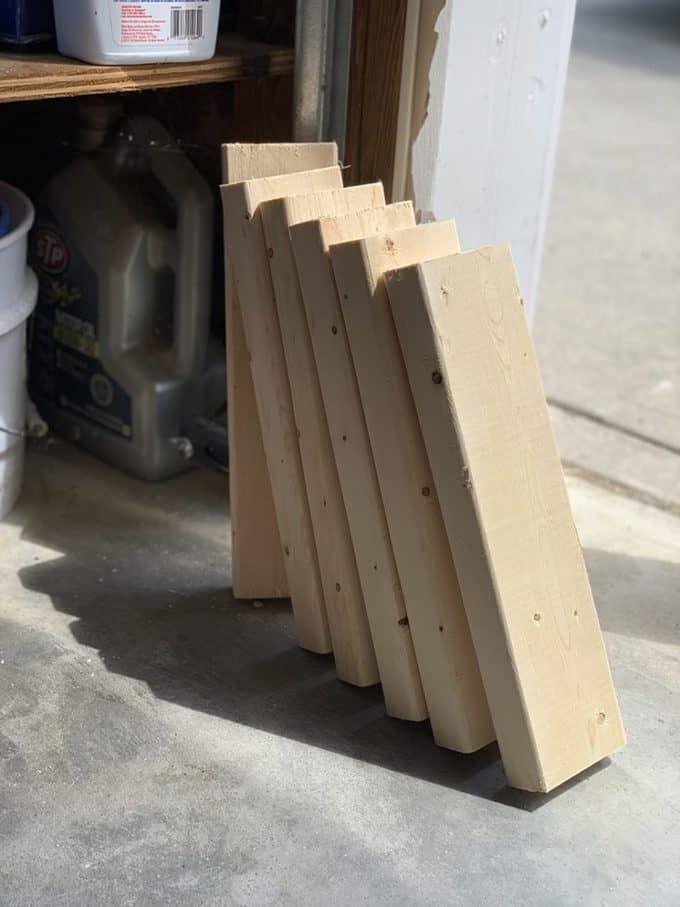 Simple Wall Shelves Tutorial