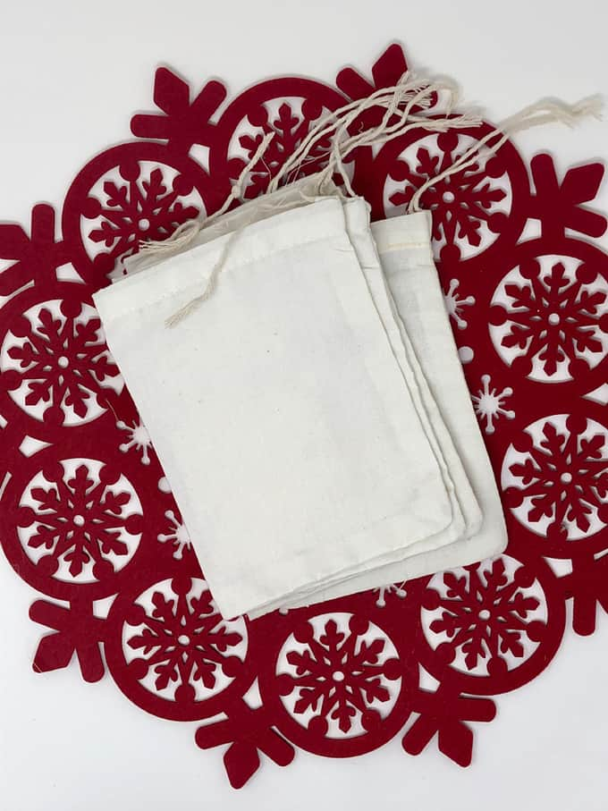 christmas cloth bag
