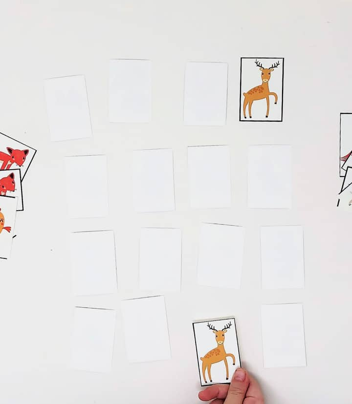 printable woodland game