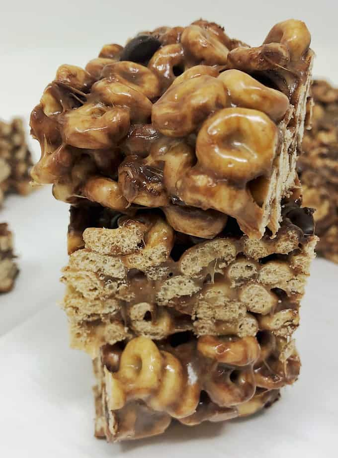 chocolate cheerios bars 3