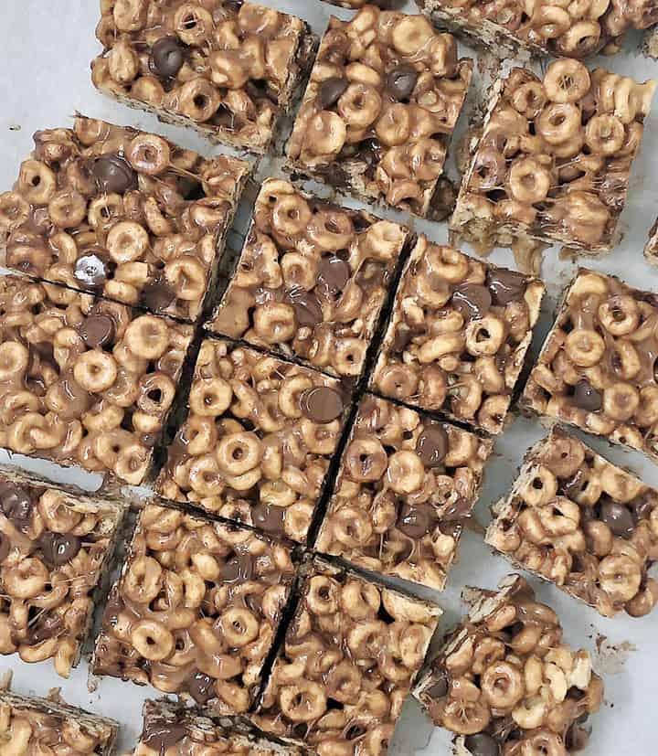 chocolate cheerios bars 2