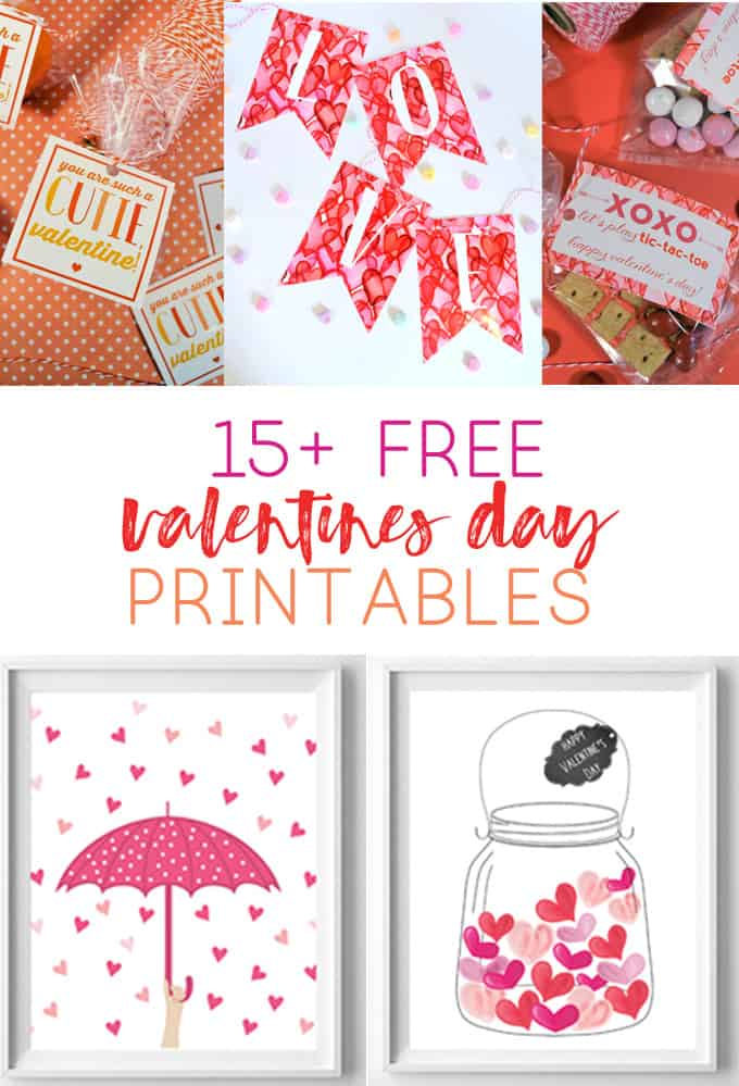 valentines day printable art
