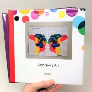 photo book of kids art