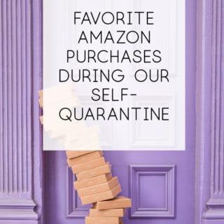 amazon purchases during quarantine