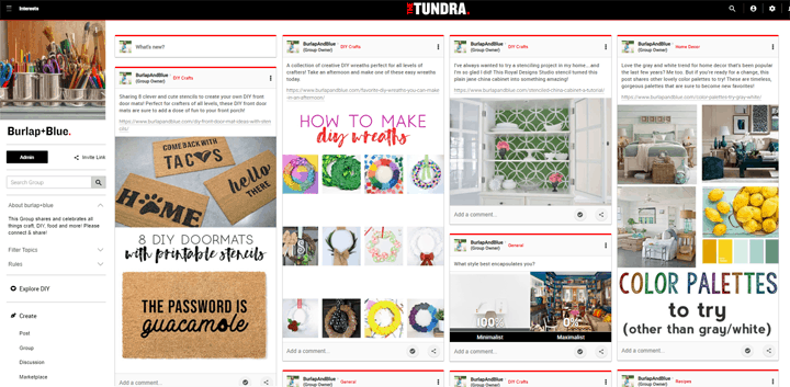thetundra social platform 3