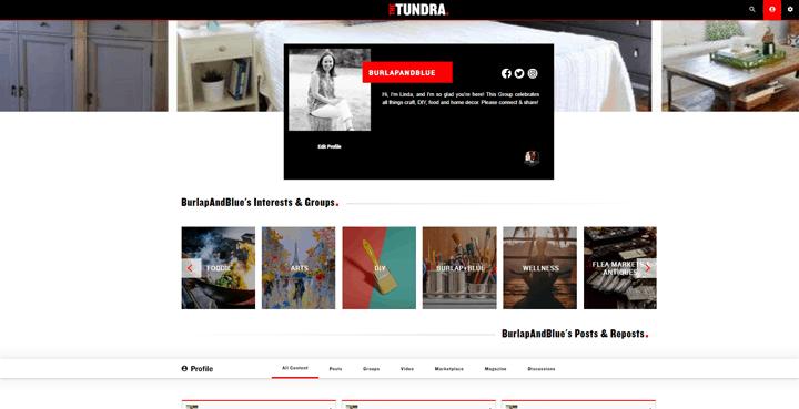 thetundra social platform