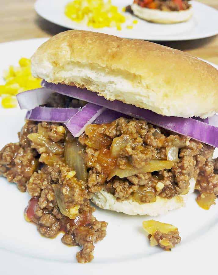 Easy, Homemade Sloppy Joes