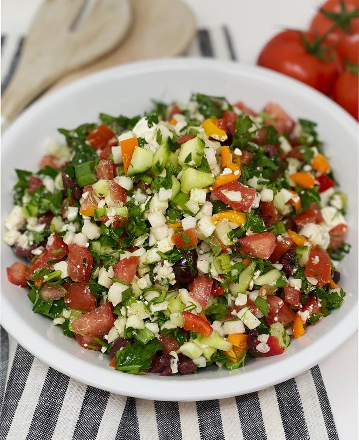 Greek Tabbouleh Salad recipe