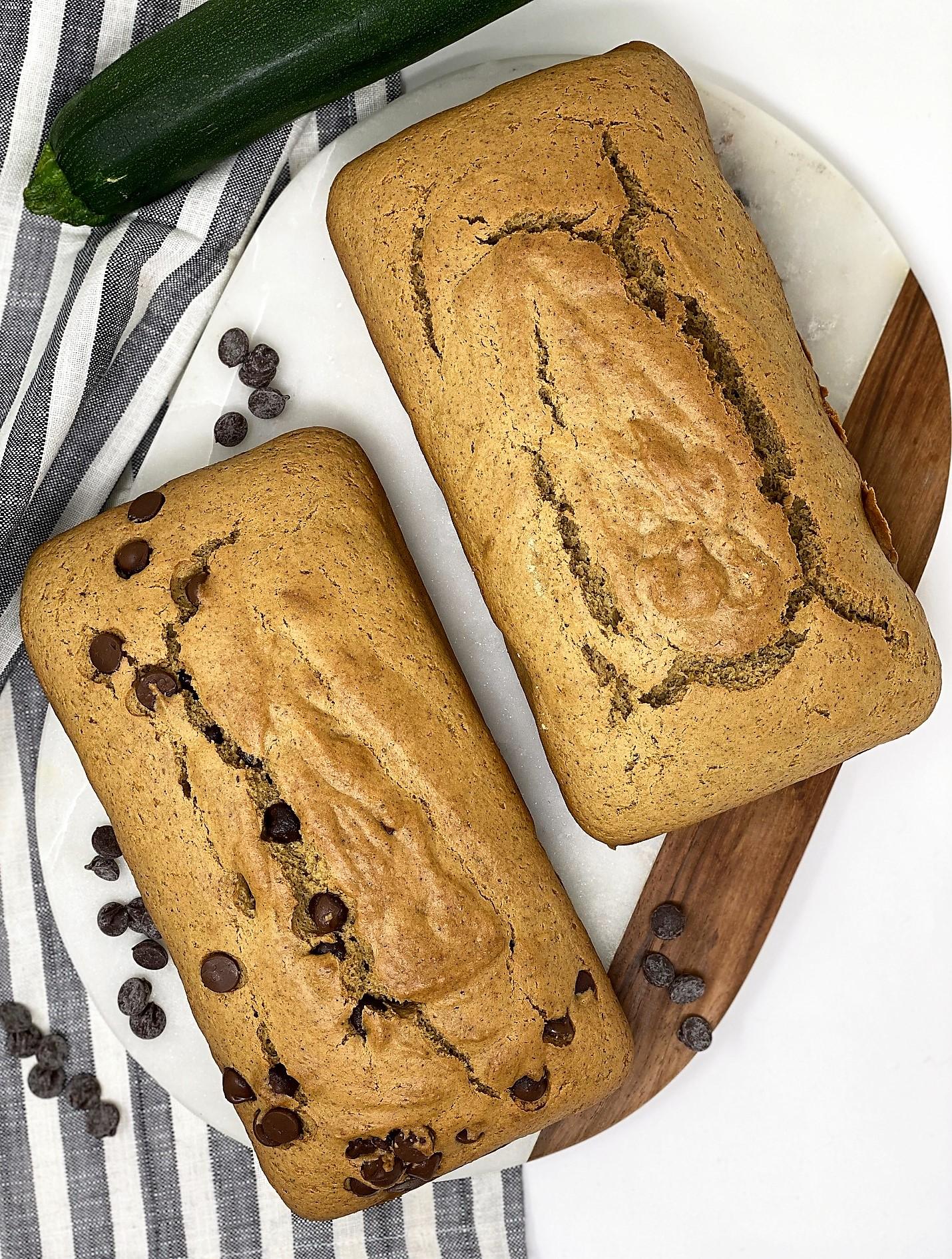 blender zucchini bread recipe
