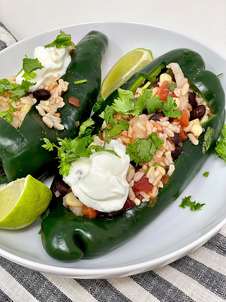 stuffed poblano peppers 2
