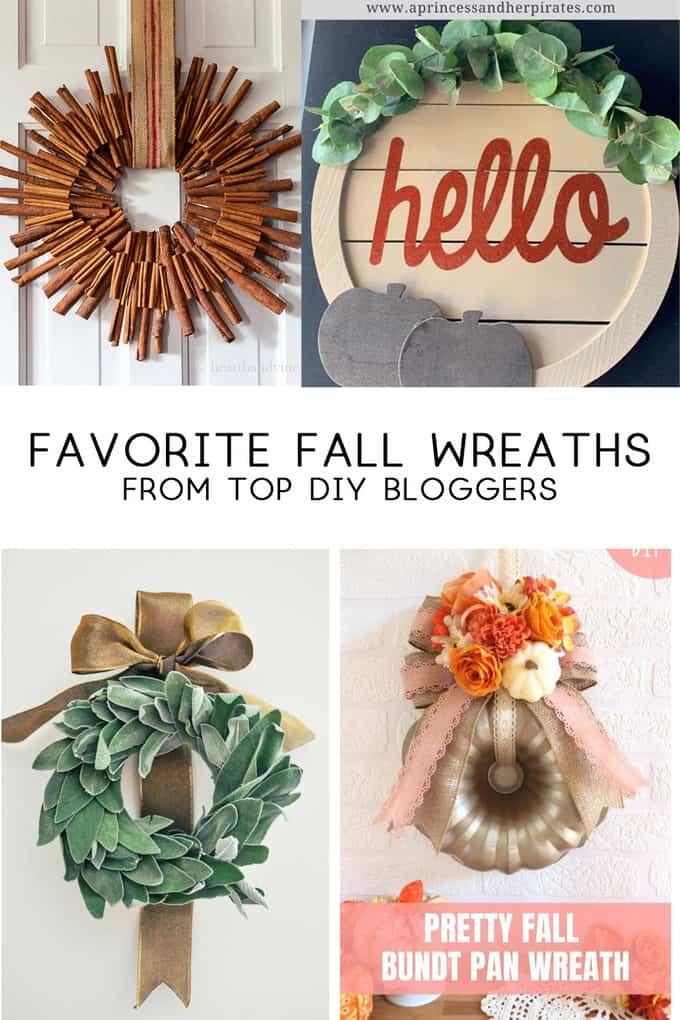 fall wreaths door