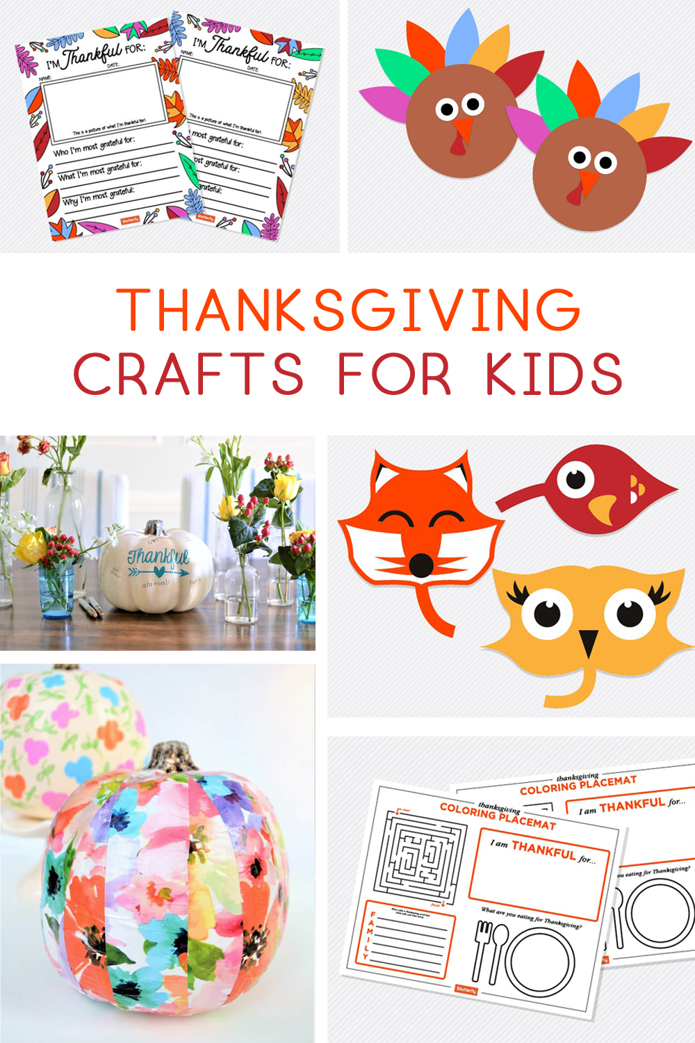 thanksgiving crafts kids