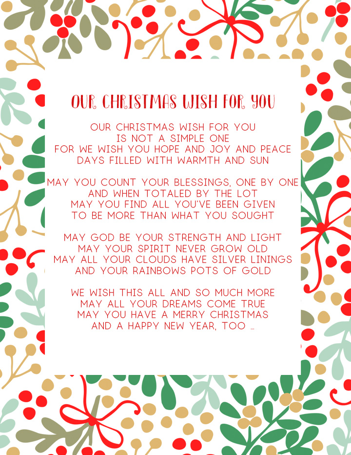 christmas poem kids