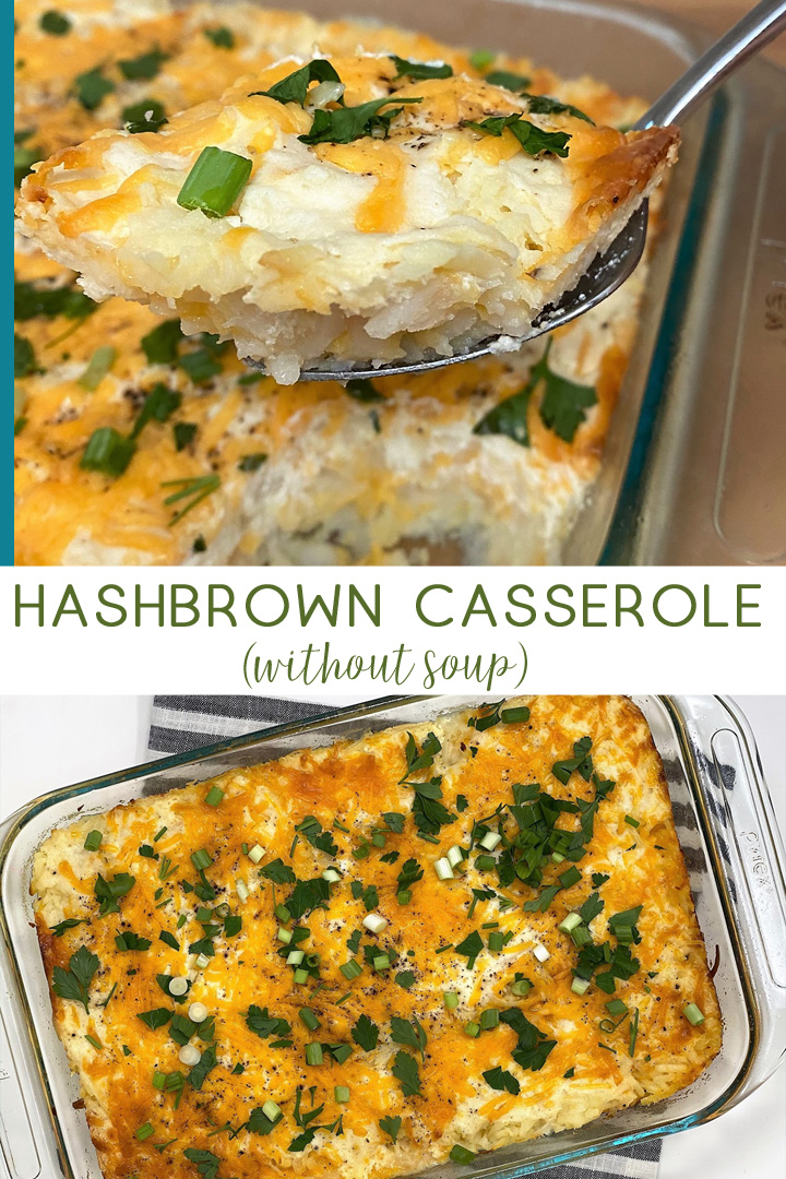 hashbrown casserole without soup