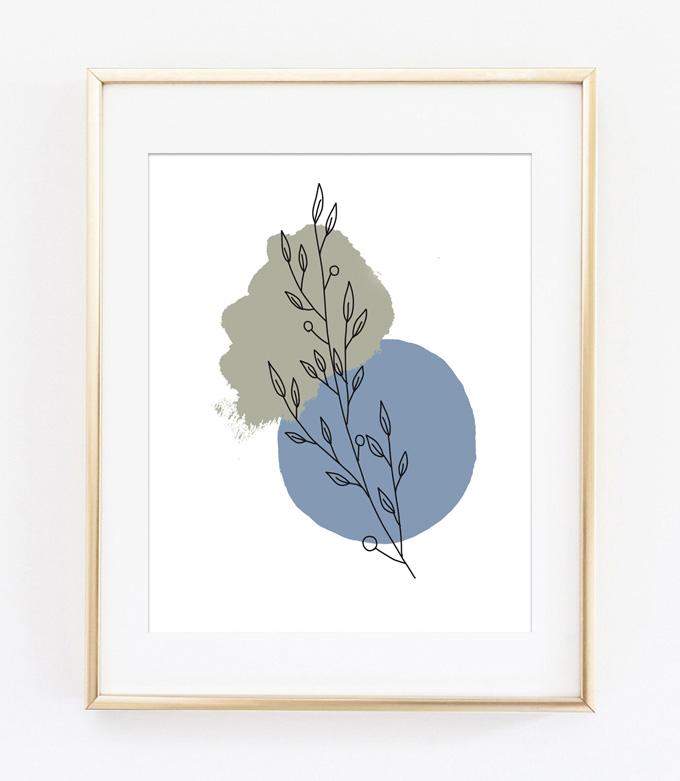 botanical printable