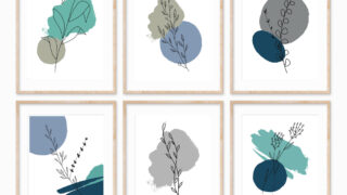 botanical free printables