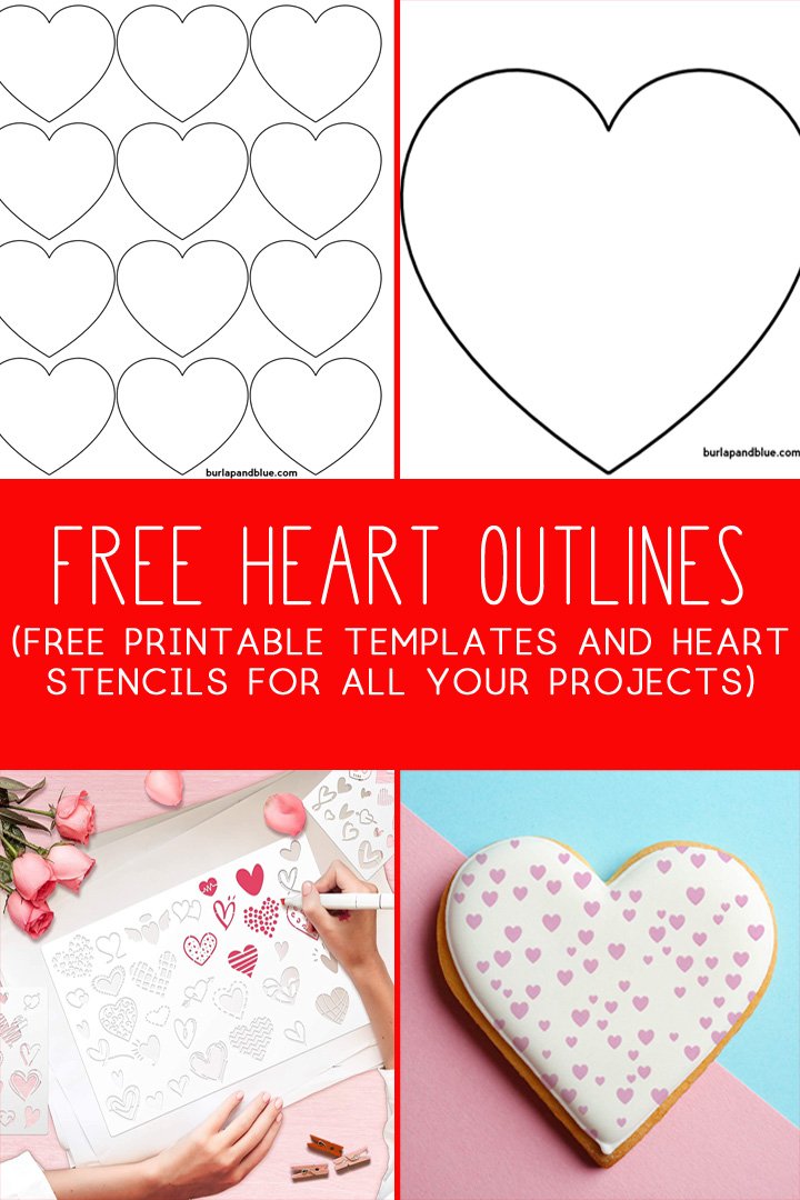 free heart outline