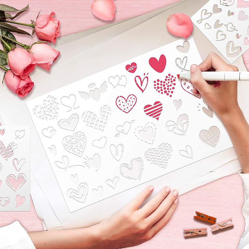 heart stencils