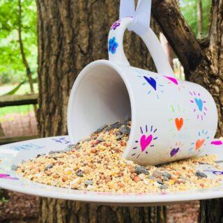 sharpie bird feeder