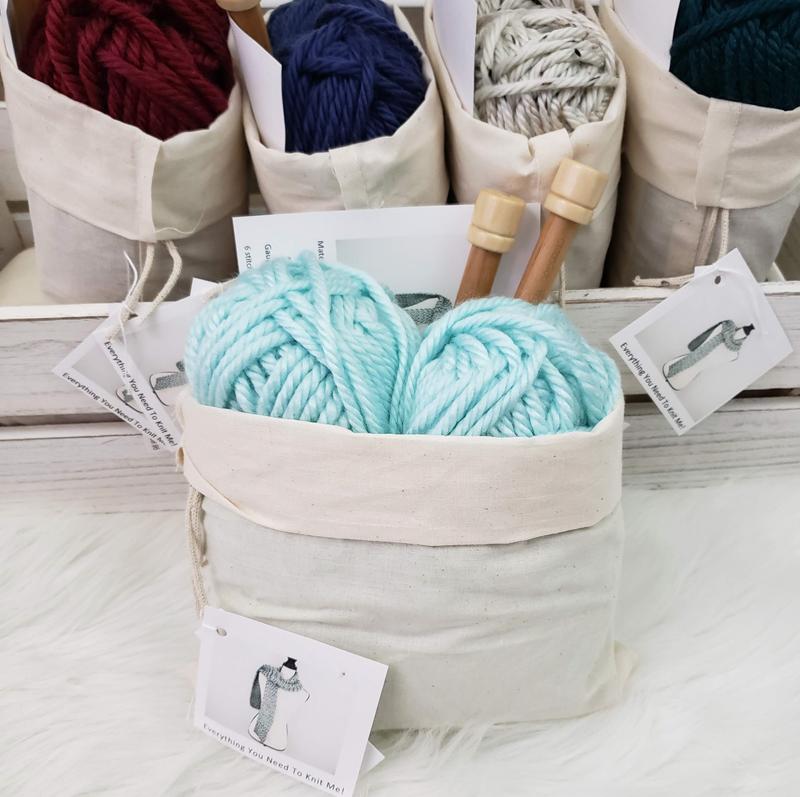 knitting kit etsy