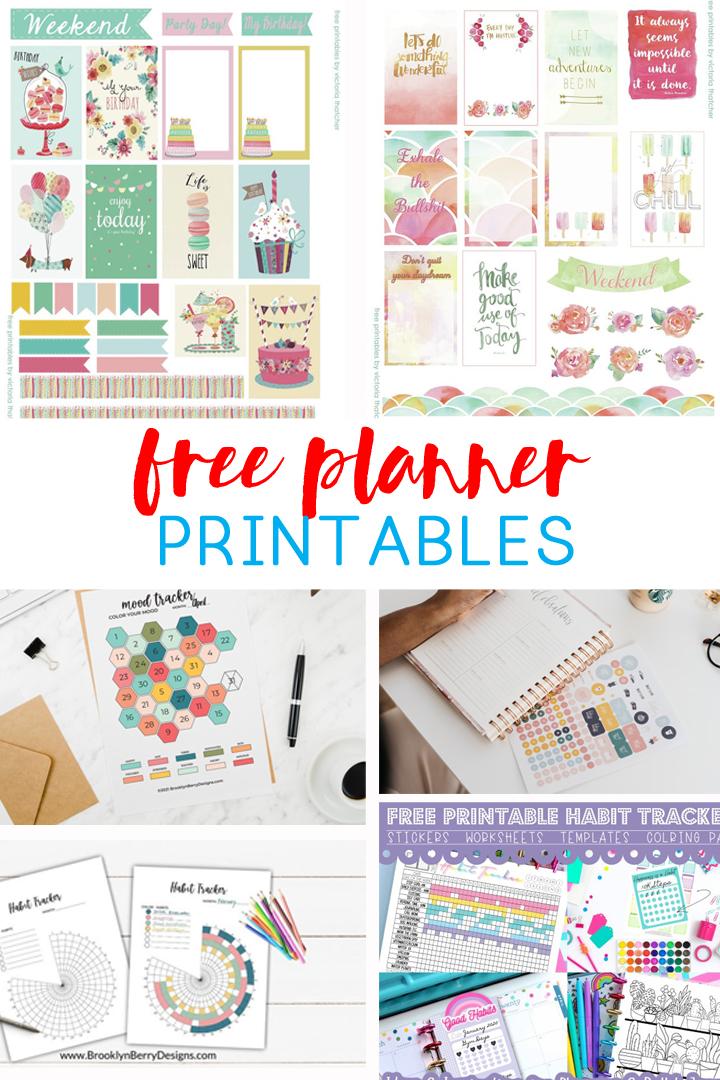 planner printables