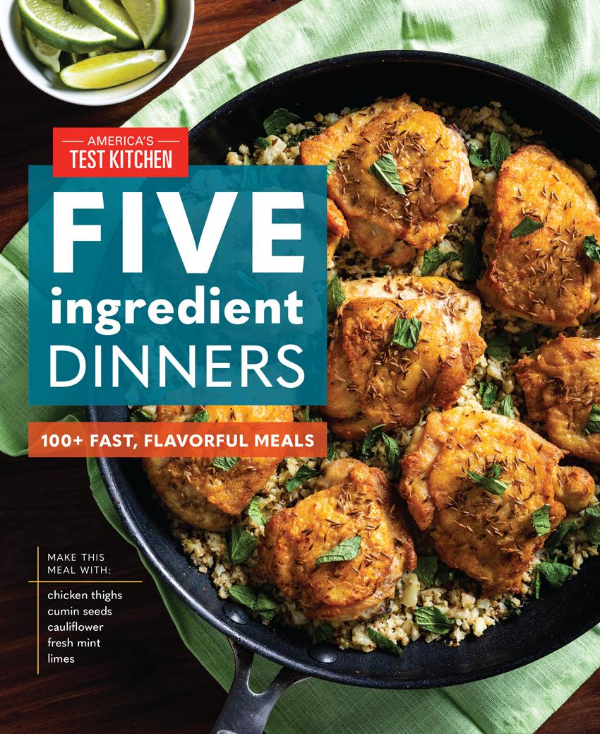 five ingredient dinners